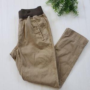 J Crew Drapey Chino Khaki Pants sz 6